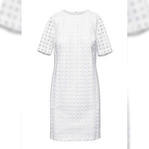 Banana Republic lace shift dress size 12 nwot
